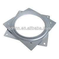 154mm Square Lazy susan swivel,ball bearing turnplate