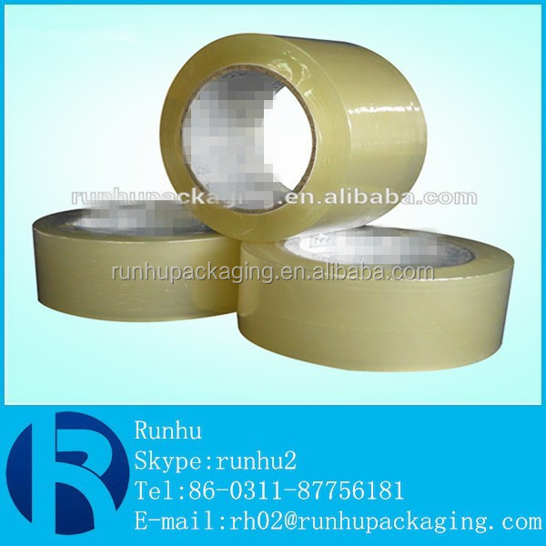 Cheap Packaging And Wrapping Application Bopp Adhesive Clear Tape With Size 2inches , 48mic