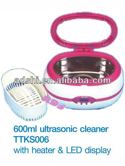 2013 professional High quality 600ml ultrasonic cleaner