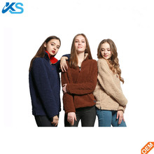 2017 Women Pullover Winter Warm Sweatshirt Polar Fleece Hoodie