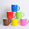China supplier Wholesale 11oz customized porcelain coffee cup promotional ceramic mug for advertising