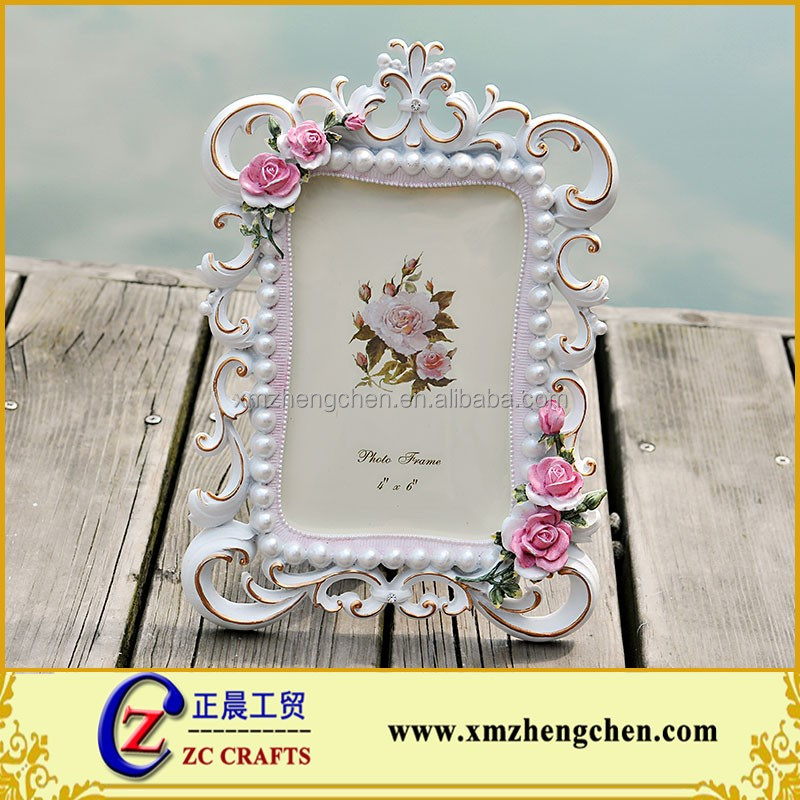 Beautiful Resin Women Sex Photo Frame Wedding Gift Hollow out Picture Frame 6 inch and 7 inch