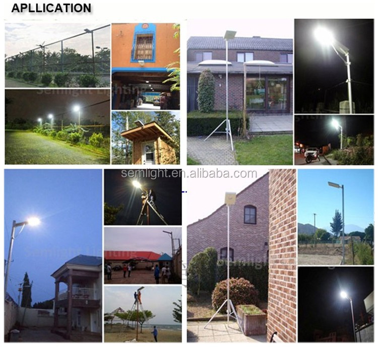 easy installment 5W all in one solar led street light with CE TUV