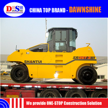 SR26T-3 New Road Roller Price with Front 4 /Rear 5 Tires - Shantui Electro Hydraulic Control Tire Compactor 26 tons