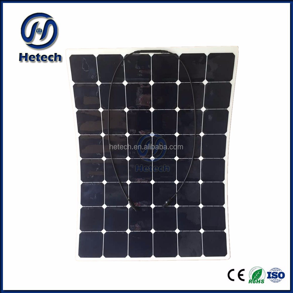 China manufacturer SEMI flexible solar panel 155W semi flex high efficiency stable performance