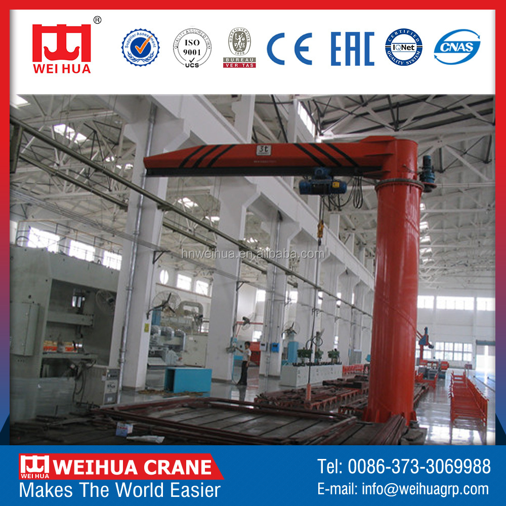 Economic Prices 1T Electric Material Handling Jib Crane Manufacturers Calculations For Sale