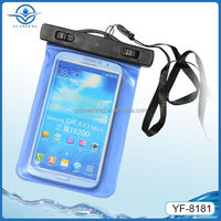 Protective PVC + ABS Waterproof Bag for Samsung mega 6.3''