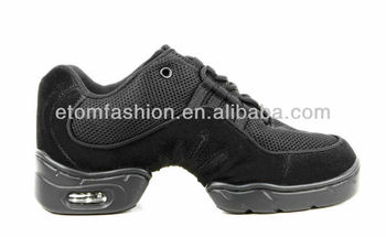 Leather and Mesh High Quality Jazz Dance Sneaker #0913