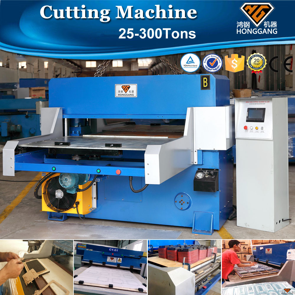 china supplier hot sale plane auto die cutting machine