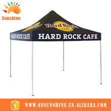Chinese style PU coating camping canvas outdoor aluminum frame event exhibition advertising tent