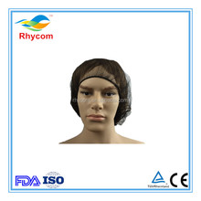 Nylon hair net / nonwoven caps /disposable snood cap