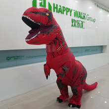 New design custom inflatable dragon dinosaur costume with the factory wholesale