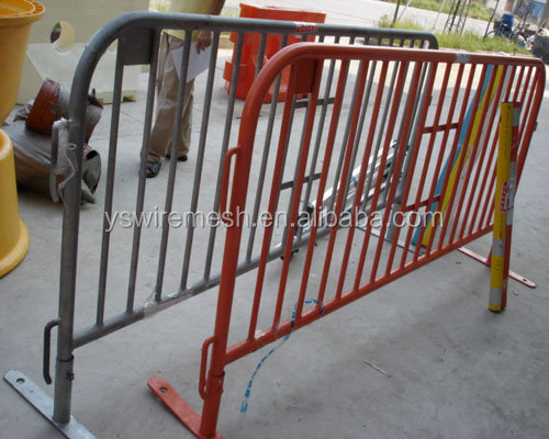 sectional temporary fence panel