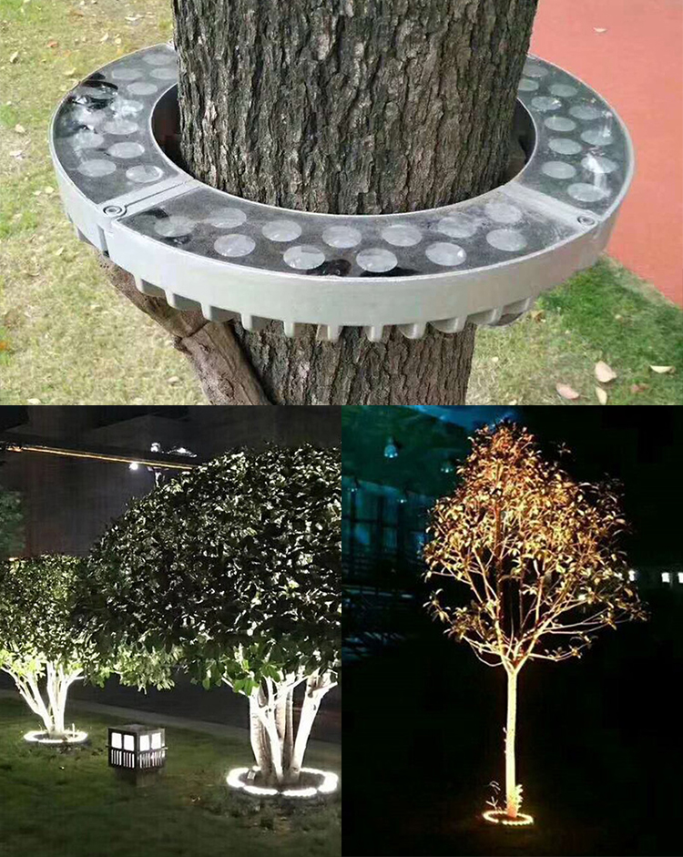 customized landscape light cover / aluminum landscape light housing