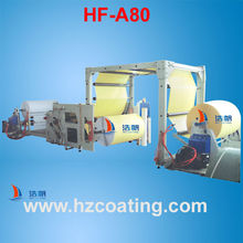 Self Adhesive Paper Label Hot Melt Coating Laminating Machine