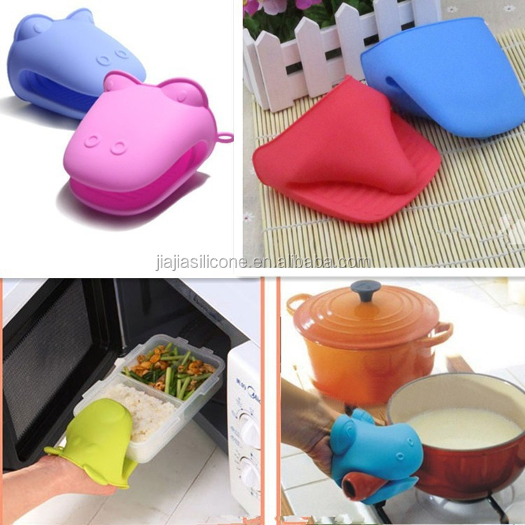 funny shape microwave oven use silicone hand glove