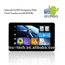 7 Inch Touchscreen Android 4.0 GPS Navigator