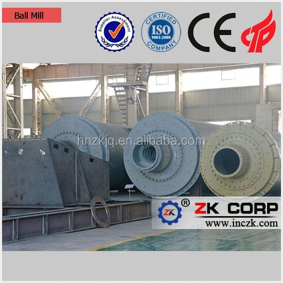 2018 New Energy Saving Wet Grinding Ball Mill, Dry Grinding Ball Mill with Low Price