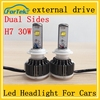 3000LM led Headlight high quality 30w led cars light h7 h9 6000k 12v/24v