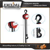 Steel alloy nice design chain block and tackle