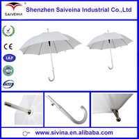 High quality stick umbrella 23inches 8ribs Straight aluminum umbrella