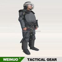 Factory price PC material riot control suit