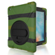 YEXIANG Heavy Duty 3 In 1 Shockproof Hybrid Rugged 360 Degree Rotation Tablet Case For iPad 2/3/4