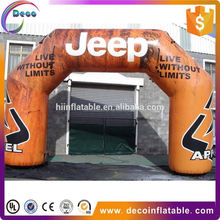 Customs Start/finish Inflatable Arch/tent With Logo,race Sports Event
