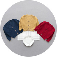 FS0042A 2018 spring baby clothing boys cardigans kids sweaters