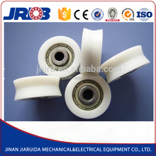 JRDB Used Widely Rubber Plastic Coated Bridge Sliding Door Roller Bearing Pad