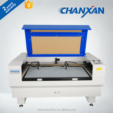 Chanxan wool felt laser cutting machine with double laser heads Skype:nancyhyy88