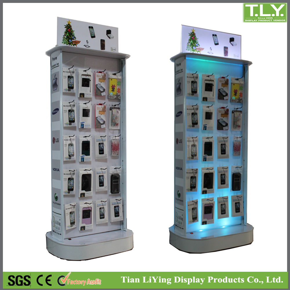SSW-CA-102 Factory Price Cell Phone Accessories Display Racks / Mobile accessories Display Stand with High Quality