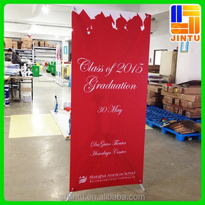 Custom X banner, X banner display, X floor banner stand