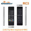 2.4G Mini Air Mouse Keyboard Combo For Google Android TV Player/tablet pc/ smart phone Mini Wireless Keyboard