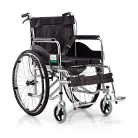 Foldable Lightweight Quality Manual Wheelchair For