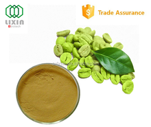 Hot selling GMP OEM factory supply High Quality green coffee bean extract capsules with low price, 50% Chlorogenic Acid
