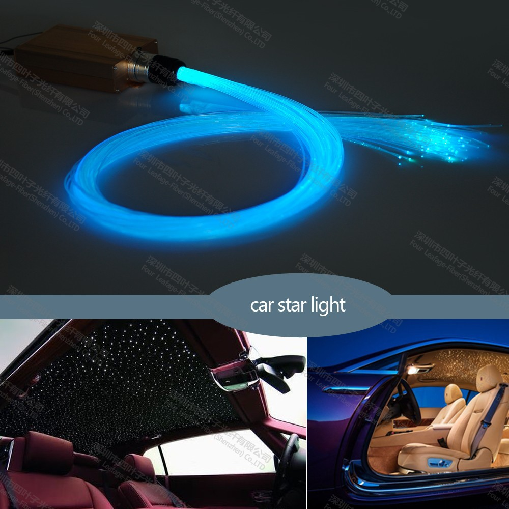 interior decoration car roof top optic fiber light bar with 400piece 4m buy car roof. Black Bedroom Furniture Sets. Home Design Ideas