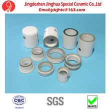 Electrical Resistant 95% Alumina Metallized Ceramic Insulator