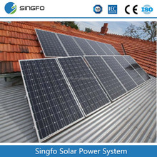solar panel inverter system 1500w solar system/ mini projects solar power systems for home use