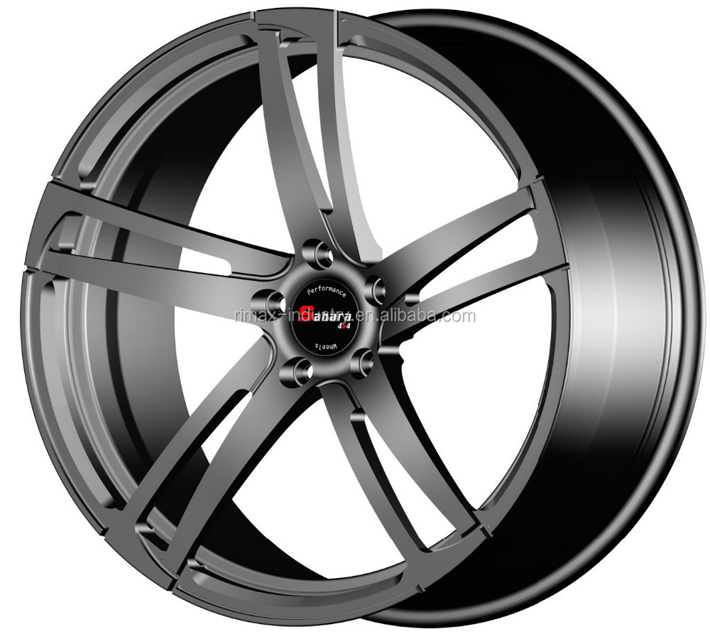 Forged aluminum wheel high quality alloy for cars