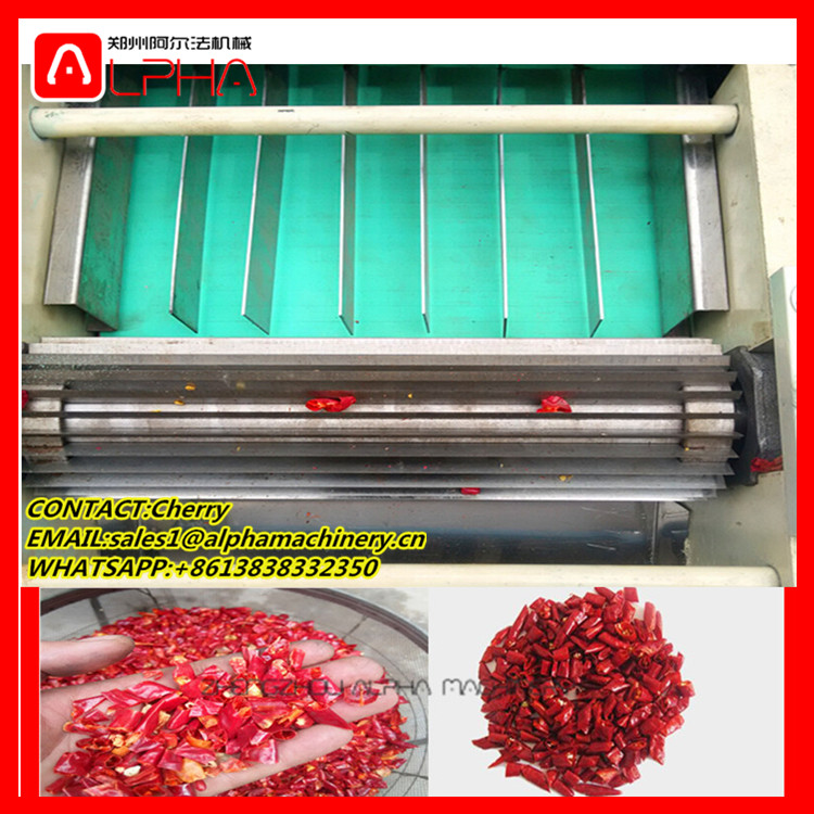 Electric commercial vegetable cutter/chili onion ginger vegetable cutting machine