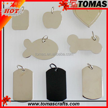 Factory direct sale wooden dog tag with custom made logo