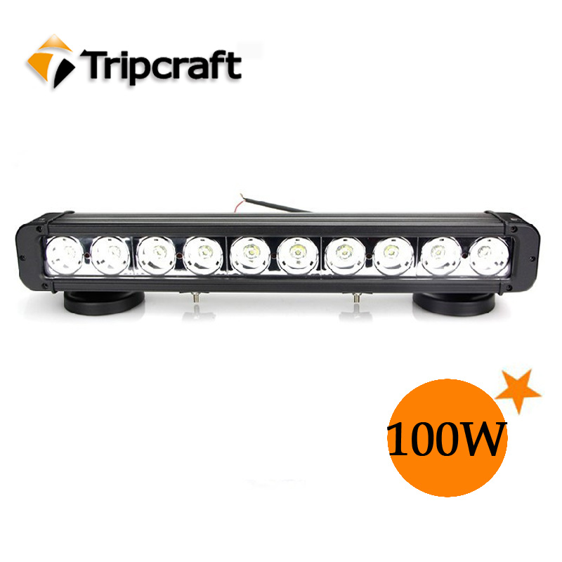 "high power 8500 lumen 100 watt 12 volt led light bar, head light bar for offroad 17"" 12 volt led light bar"