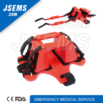 EMS-A403 spine board immobilization