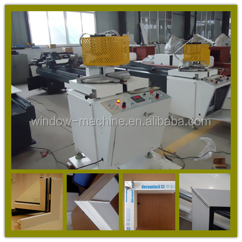 Single head variable angle welding machine / PVC window fabrication line