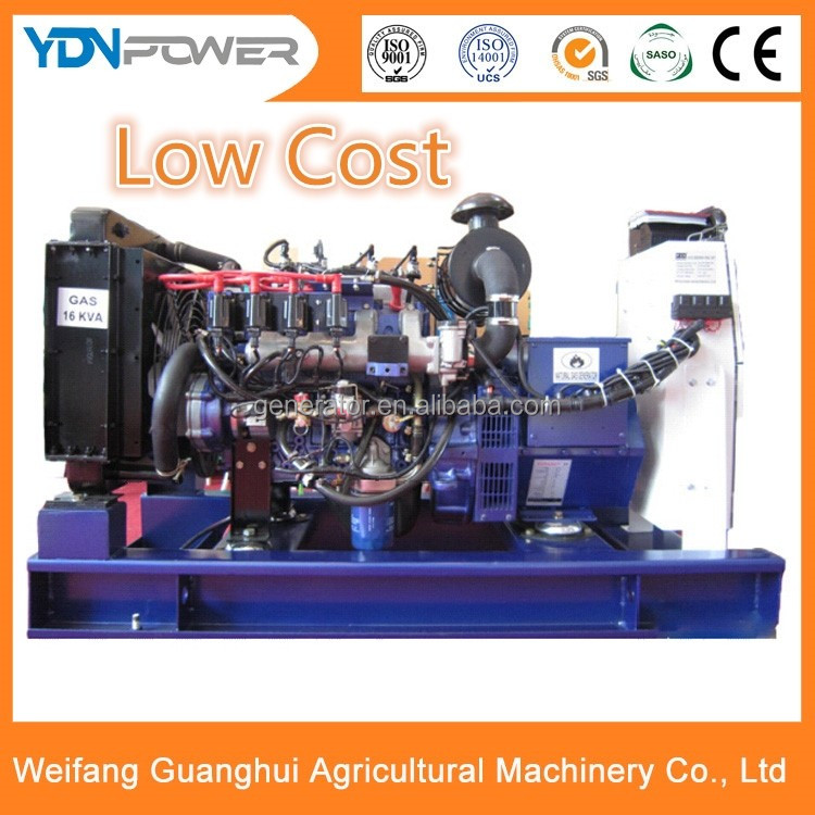 Yidaneng 12kw 15kva methane electric gas generator