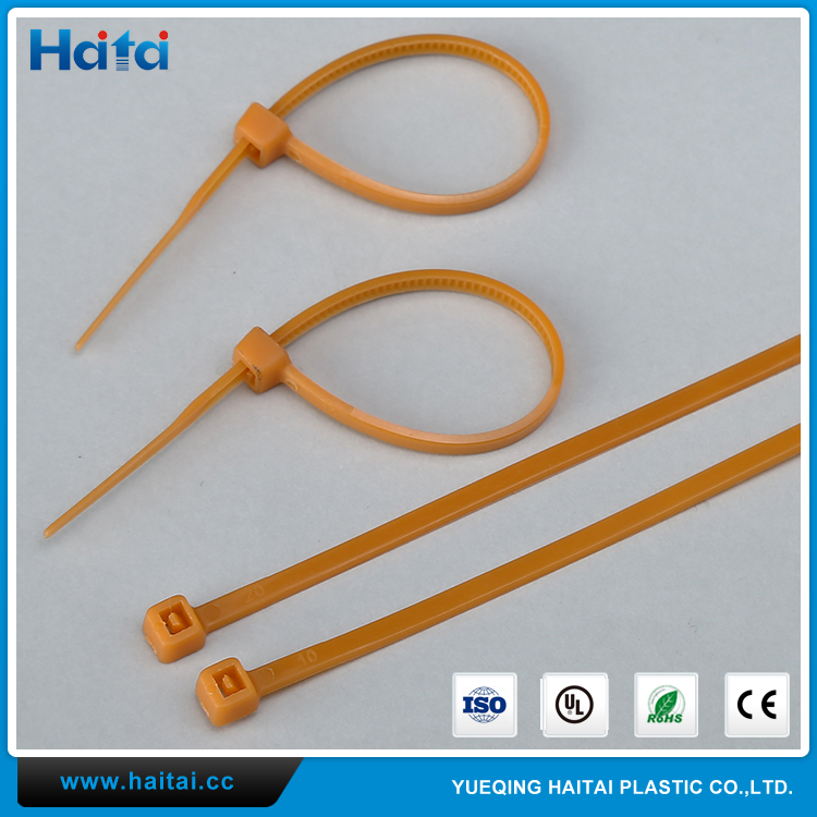 Haitai Factory Price SGS ROHS Any Color Self Locking Nylon Cable Tie With Ul Material