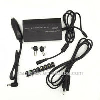 100W Universal AC/Car adaptor for laptop/Notebook US 110-240V (input frequency: 50-60Hz) 10A Max