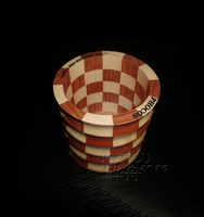 wooden mini bucket with different shape design