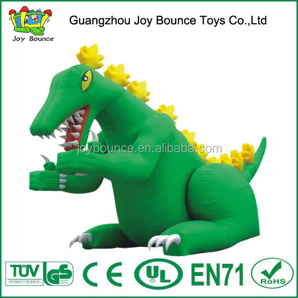 giant green inflatable dinosaur cartoon for sale